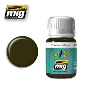 AMMO 1614 PANEL LINE NEUTRAL BROWN 35ml
