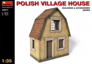 MINIART 35517 1:35 POLISH VILLAGE HOUSE