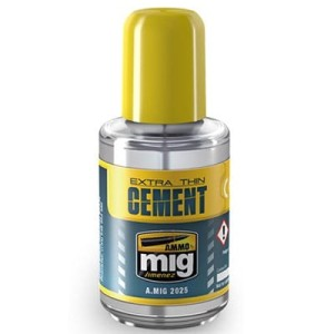 AMMO 2025 EXTRA THIN CEMENT 30ml