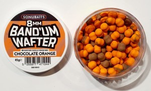 DUMBELLS SONUBAITS Band'Um Wafters 8mm - Chocolate Orange [S0810043]