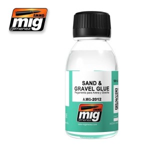 AMMO 2012 SAND & GRAVEL GLUE 100ml