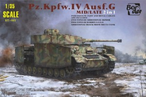 BORDER MODEL BT001 Pz.Kpfw.IV Ausf.G Mid/Late 2 in 1