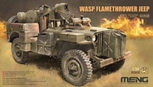 MENG VS012 1:35 WASP Flamethrower Jeep