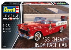 REVELL 07686 1:25 CHEVY 55 INDY PACE CAR
