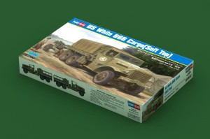 HOBBY BOSS 83802 1:35 US White 666 Cargo(Soft Top)