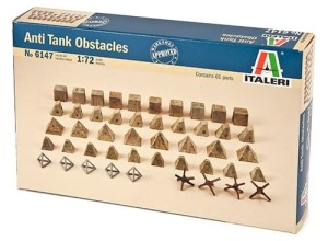 ITALERI 6147 1:72 WWII ANTITANK OBSTACLES