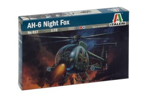 ITALERI 0017 AH-64 NIGHT FOX