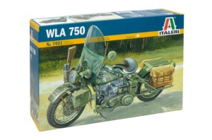 ITALERI 7401 1:9 US ARMY MOTORCYCLE WW2