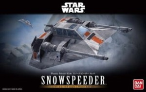 BANDAI 17734 MODEL KIT SET SNOWSPEEDER
