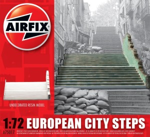 AIRFIX A75017 1:72 European City Steps