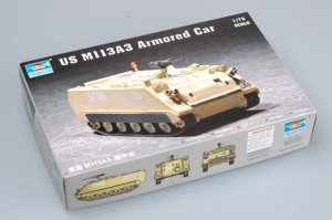 TRUMPETER 07240 1:72 US M 113A3 Armored Car