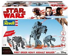 REVELL 06761 1:164 First Order Heavy Assault Walker