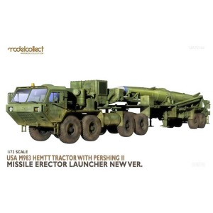 MODELCOLLECT UA72166 1:72 M983 Hemtt Tractor With Pershing II Missile Launcher