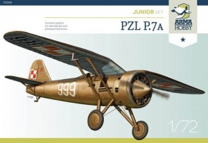 ARMA HOBBY 70008 1:72 PZL P.7a Junior set