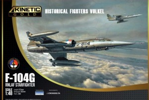 KINETIC 48090 1:48 F-104G RNLAF Starfighter Historical Fighters Volkel