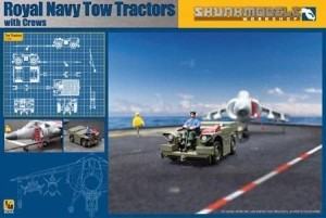 SKUNKMODELS 48017 1:48 Royal Navy Tow Tractors
