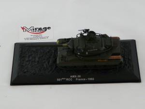 DIE-CAST #29 1:72 AMX-30  501EME RCC FRANCE - 1982