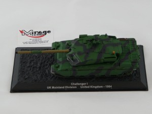 DIE-CAST #31 1:72 CHALLENGER I  UK MAINLAND DIVISION UNITED KINGDOM - 1984