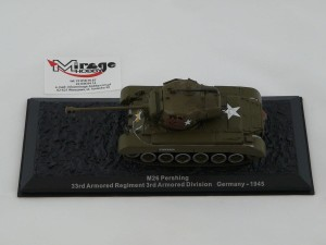 DIE-CAST #32 1:72 M26 PERSHING  33RD ARMORED REGIMENT 3RD ARMORED DIVISION GERMANY - 1945