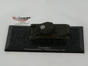DIE-CAST #42 1:72 CROMWELL Mk.IV  11th ARMOURED DIVISION NORMANDY (FRANCE) 1944
