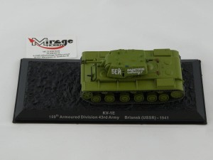 DIE-CAST #46 1:72 KV-1E  109TH ARMOURED DIVISION 43RD ARMY BRIANSK (USSR) - 1941
