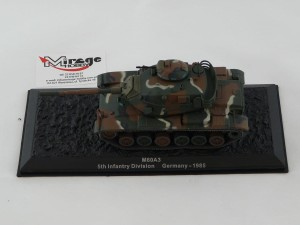DIE-CAST #49 1:72 M60A3  5TH INFANTRY DIVISION GERMANY - 1985
