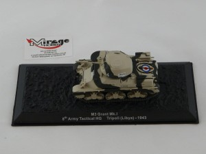 DIE-CAST #57 1:72 M3 GRANT MK.I  8TH ARMY TACTICAL HQ TRIPOLI (LIBYA) - 1943
