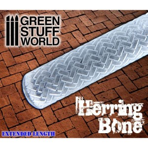 GSW 1675 Rolling Pin Herringbone
