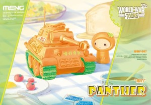 MENG WWP007 1:egg Pinky World War Toons Panther
