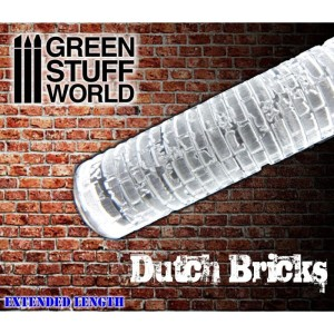 GSW 1336 ROLLING PIN DUTCH BRICKS