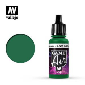 VALLEJO GAME AIR 72729 SICK GREEN