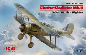 ICM 32041 1:32 Gloster Gladiator Mk.II WWII British Fighter