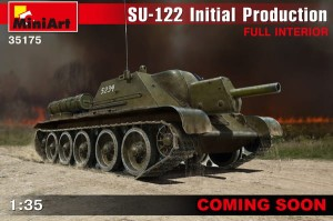 MINIART 35175 1:35 SU-122 INITIAL PRODUCTION w/FULL INTERIOR