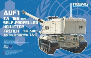 MENG TS024 1:35 French AUF1 TA 155 mm SELF-PROPELLED HOWITZER FRENCH