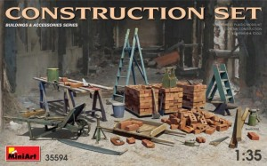 MINIART 35594 1:35 Construction SET