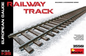 MINIART 35561 1:35 European Gauge Railway Track