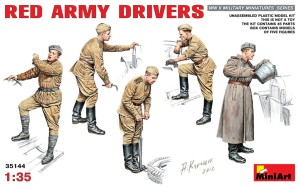 MINIART 35144 1:35 Red Army Drivers