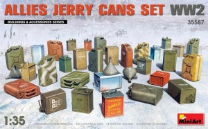 MINIART 35587 1:35 Allies Jerry Canas Set WW2