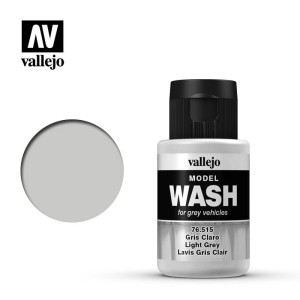 VALLEJO 76515 MODEL WASH - LIGHT GREY 35ml