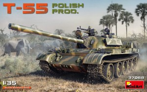 MINIART 37068 1:35 T-55 Polish Prod.