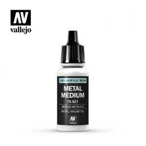 VALLEJO 70521 METAL MEDIUM 17ml
