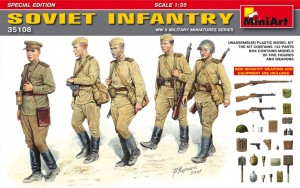 MINIART 35108 1:35 Soviet Infantry Special Edition