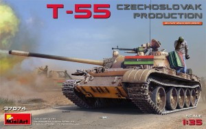 MINIART 37074 1:35 T-55 Czechoslovak Production