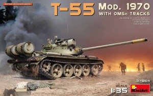 MINIART 37064 1:35 T-55 Mod.1970 with OMSh Tracks