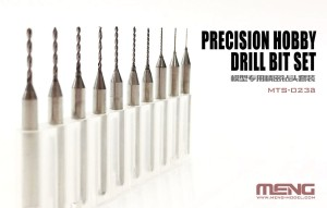 MENG MTS023A PRECISION HOBBY DRILL SET (0.4 - 1.3 mm)