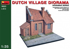 MINIART 36023 1:35 Dutch Village Diorama
