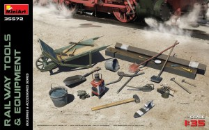 MINIART 35572 1:35 RAILWAY TOOLS & EQUIPMENT