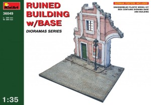 MINIART 36049 1:35 Ruined Building w/Base