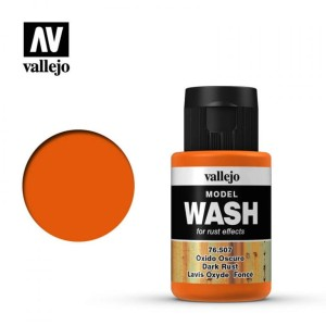 VALLEJO 76507 MODEL WASH - DARK RUST 35ml