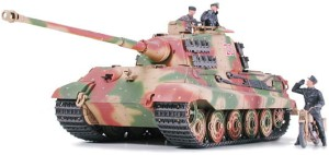 TAMIYA 35252 1:35 German King Tiger Ardennes Front